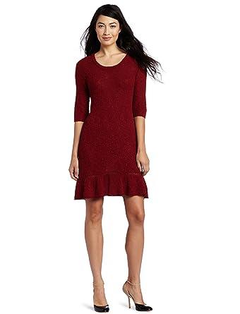 06d2172e57 Kensie Women s Textured Twisty Knit Dress at Amazon Women s Clothing ...
