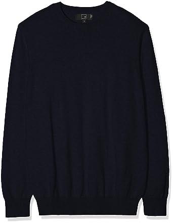 comprare on line 92368 a43b1 Marchio Amazon - MERAKI Pullover Cotone Uomo Girocollo