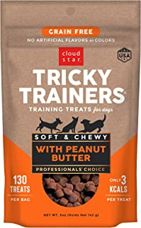 product image for Cloud Star Tricky Trainers Chewy & Grain Free, Low Calorie Dog Training Treats, Baked in the USA