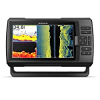 Garmin Striker Vivid 9sv, Easy-to-Use 5-inch Color Fishfinder and Sonar Transducer, Vivid Scanning Sonar Color Palettes, 9 inch (010-02554-00)