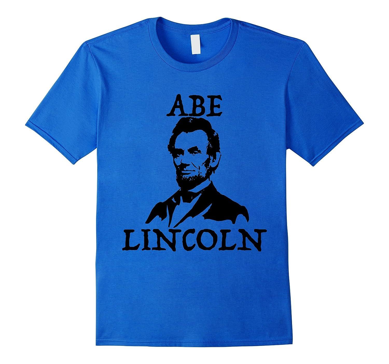 Abe Lincoln TShirt Tee Shirt T-Shirt-FL