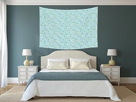 Iprint Polyester Tapestry Wall Hanginggeometriccool Line