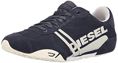 Mens Diesel Men's Harold Solar Suede Fashion Sneaker Savings Size 43