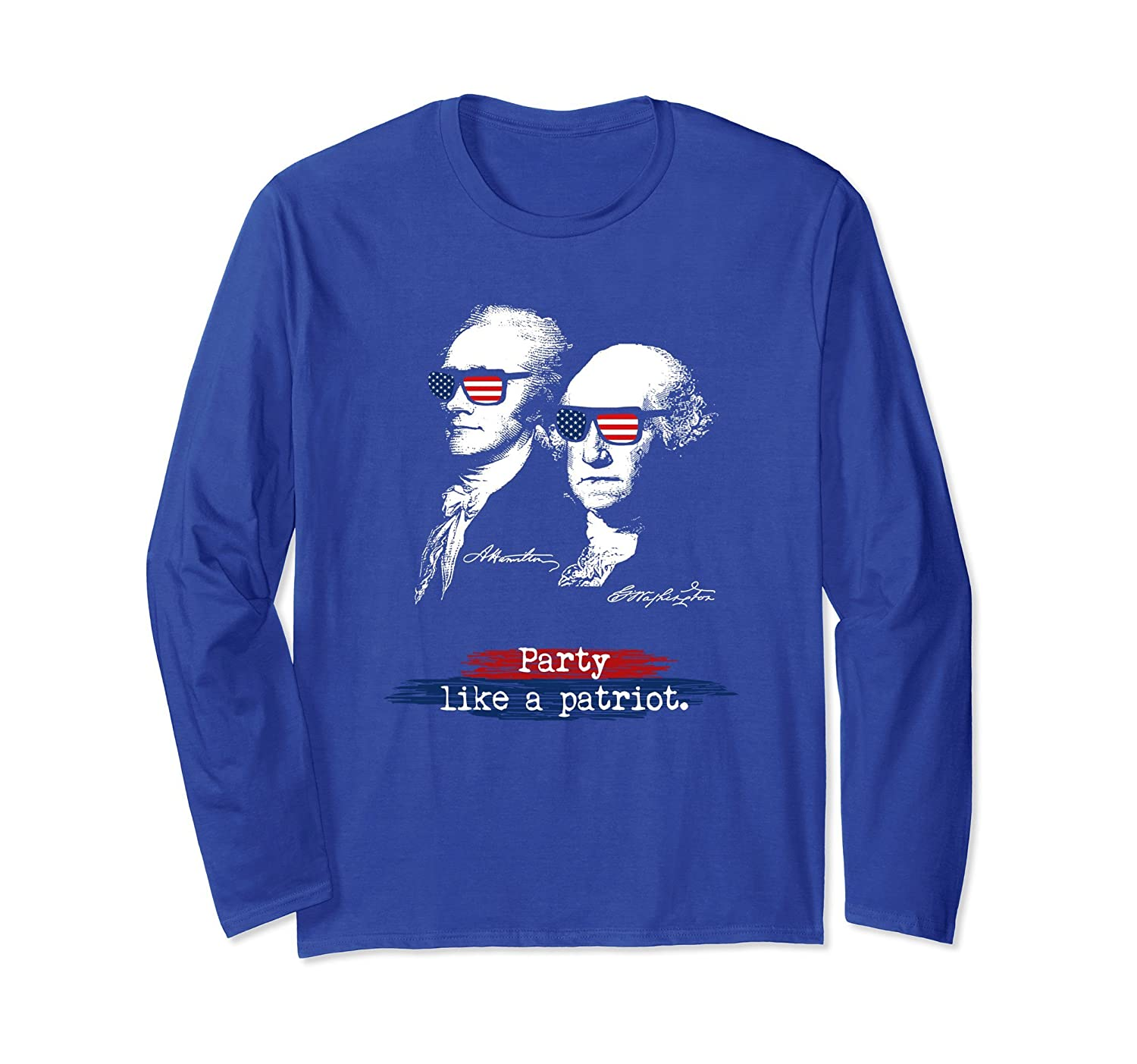4th Of July Independence Day, Party Like A Patriot T-Shirt-anz