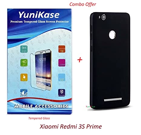 072d8b7a94a02a YuniKase (COMBO OFFER) for Xiaomi Redmi 3S Prime - - - All Sides Protection