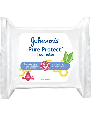 Johnsons baby - Pure Protect toallitas, 25 uds