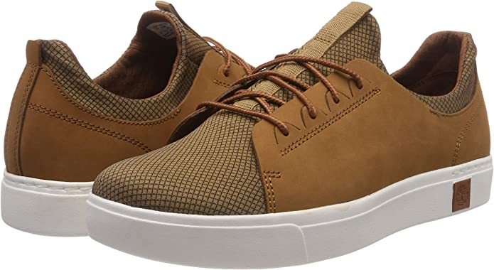 Timberland Amherst, Baskets Homme, Marron (Argan Oil Nubuck