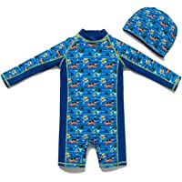 Bonverano Baby boy UPF 50+ Sun Protection One Pieces Swimsuit (3-6 Months)