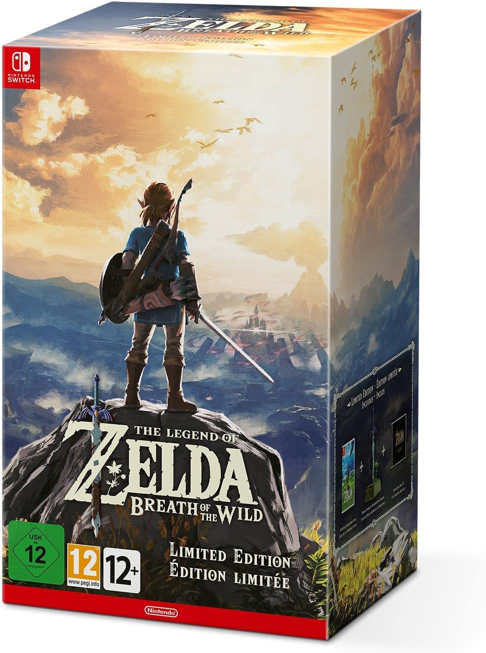 The Legend of Zelda : Breath of the Wild - Limited Edition: Amazon ...