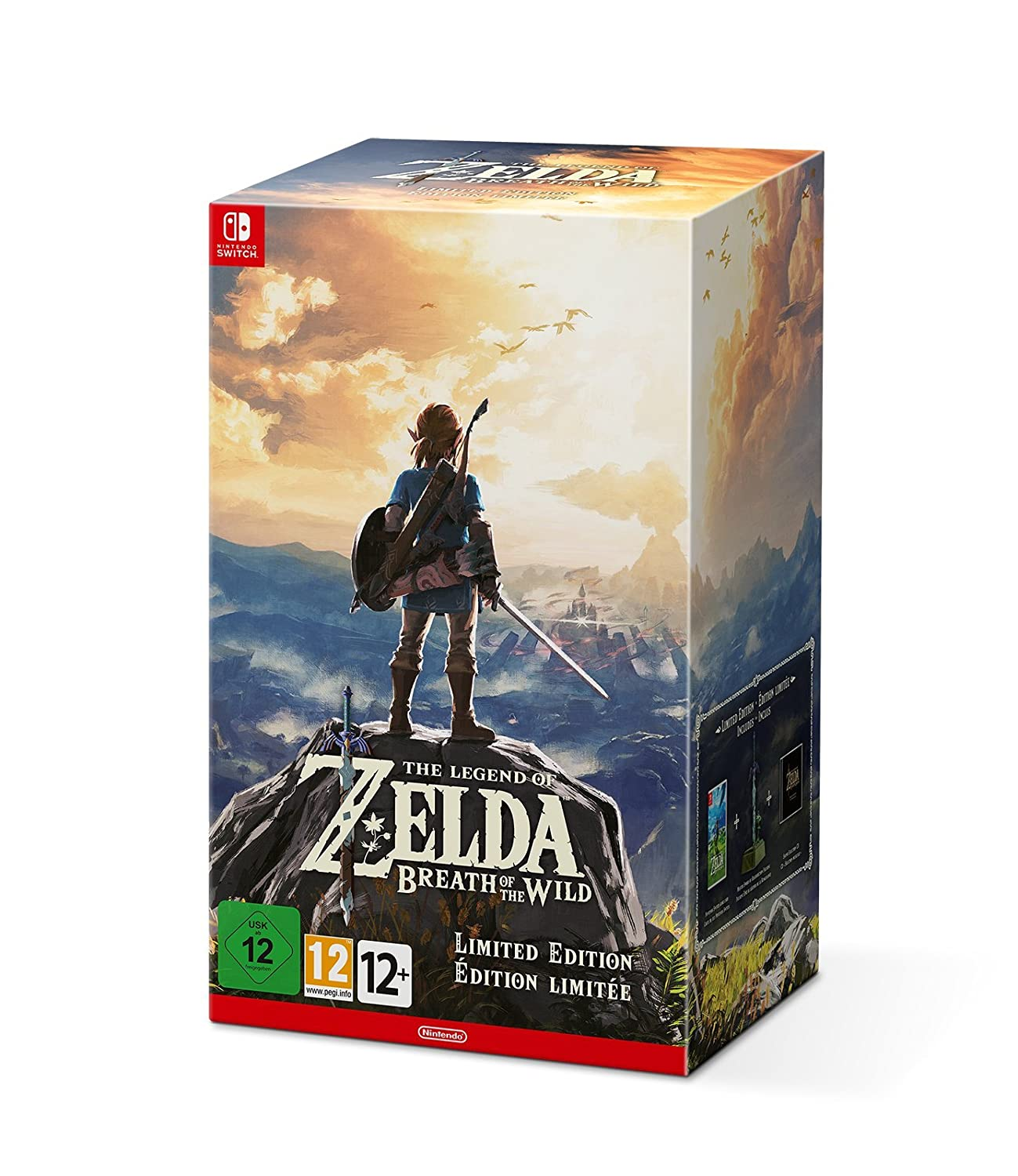 The Legend of Zelda: Breath of the Wild Limited Edition (Nintendo Switch):  Amazon.co.uk: PC & Video Games