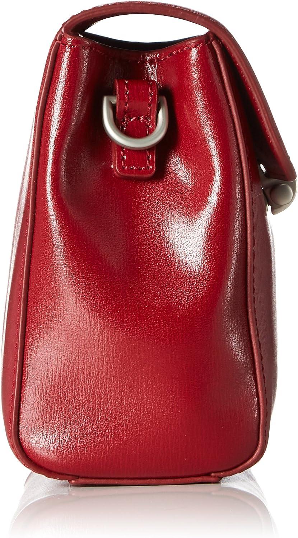 Mandarina Duck Hera 3.0 Tracolla, Sacs portés épaule Rouge (Red)