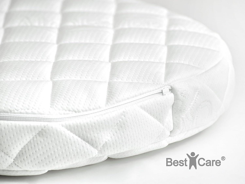 BestCare 2 seitige Sommer Winter Aero Kinderbettmatratze