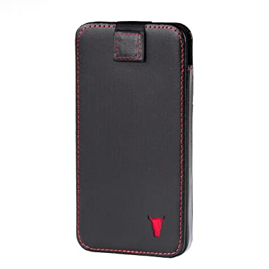 buy online 72e96 95f7e TORRO Genuine Leather Pouch Case Compatible With Apple iPhone XS Max (Black)