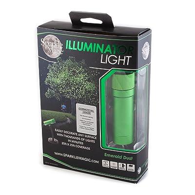 Sparkle Magic Green Commercial Grade Laser Light, Landscape Laser Lights, Christmas Laser Lights: Home Improvement