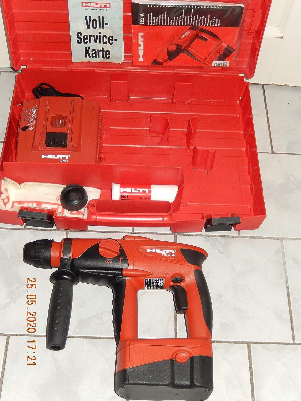 Hilti TE de 2a, incluye batería NiMH 24V, cargador C7/24patrón pieza sin embalaje original