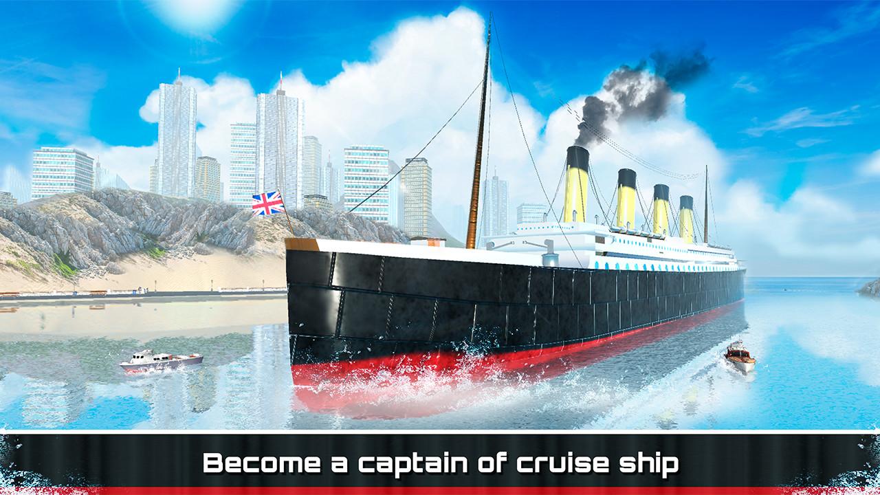 Amazoncom Cruise Ship Tycoon Titanic Simulator Traffic Tour - How do you become a captain of a cruise ship