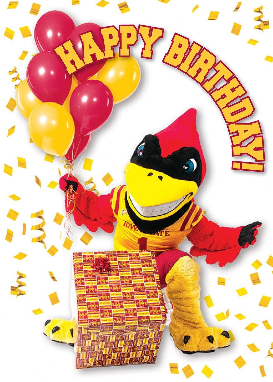 Amazon Iowa State Cyclones Happy Birthday Greeting Cards Set