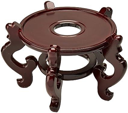 muebles Orientales asiáticos auténticos muebles y decoración 21,59 cm diámetro chino pecera girador ideal