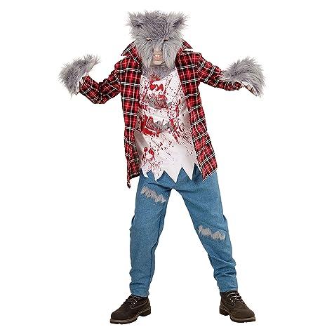 WIDMANN Disfraz para niños de hombre lobo