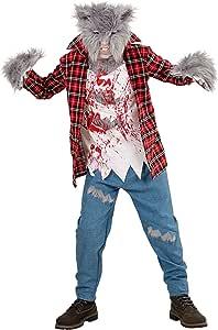 WIDMANN Disfraz para niños de hombre lobo: Amazon.es: Juguetes y ...