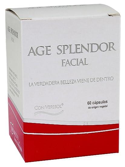 Naturlíder Age Splendor Facial Suplementos Naturales con Colágeno y Ácido Hialurónico - 60 cápsulas