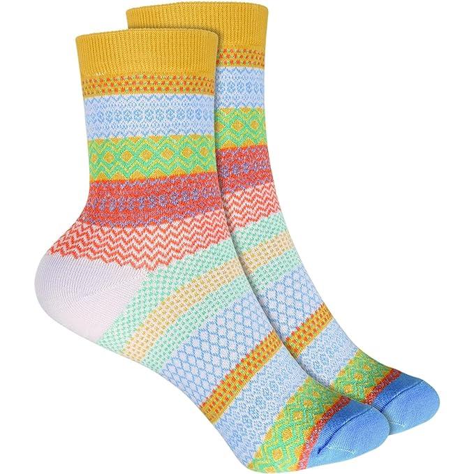 cosey- Calcetines de lana para hombres y mujeres (33-42) - 4 pares: Amazon.es: Ropa y accesorios
