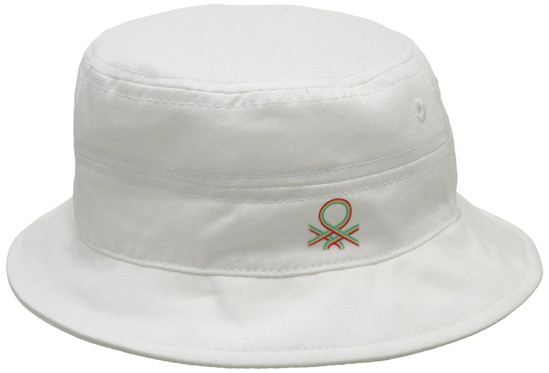 United Colors of Benetton Cotton Hat, Sombrero para Niños, Blanco ...