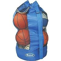 Markwort 8pelota y capacidad de baloncesto bolsa, Azul