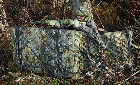 blinds for camo attachment a hunter texas guide kit on window single windows sheets film