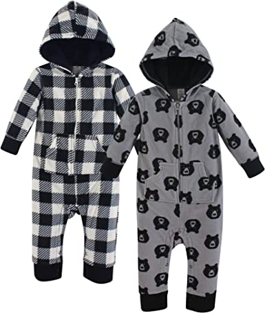Yoga Sprout Unisex Baby Fleece Jumpsuits and Coveralls