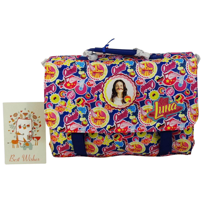 Disney Soy Luna Joy Woman Bag Shoulderbag Messenger Cross-Body with Gift