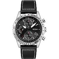 Hugo BOSS Men's Analog Quartz Watch with Leather Strap 1513853