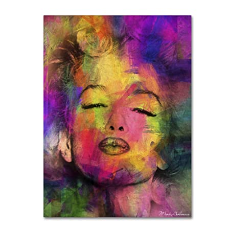 Marilyn Monroe VI by Mark Ashkenazi Wall Decor, 24 by 32 Canvas Wall Art