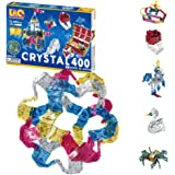 LaQ Crystal 400 - 15 Models, 400 Pieces | STEM Construction Building Set for Kids | Made in Japan | Educational Sensory…