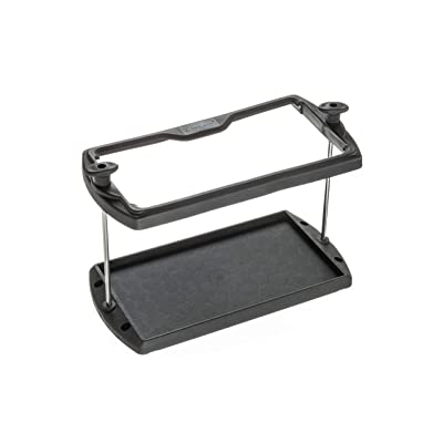 attwood 9095-5 USCG-Approved 27 Series Heavy Duty Adjustable Hold-Down Marine Boat Battery Tray, Black: Sports & Outdoors