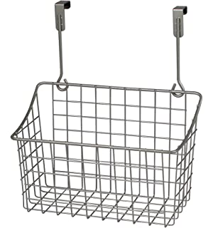 Spectrum Diversified Over the Cabinet Grid Basket, Small, Satin Nickel by Spectrum