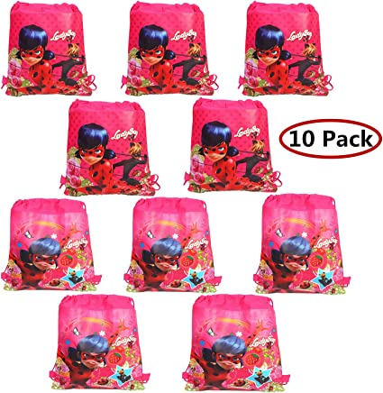 Pack Fiesta Miraculous Ladybug Platos Vasos Servilletas Globos