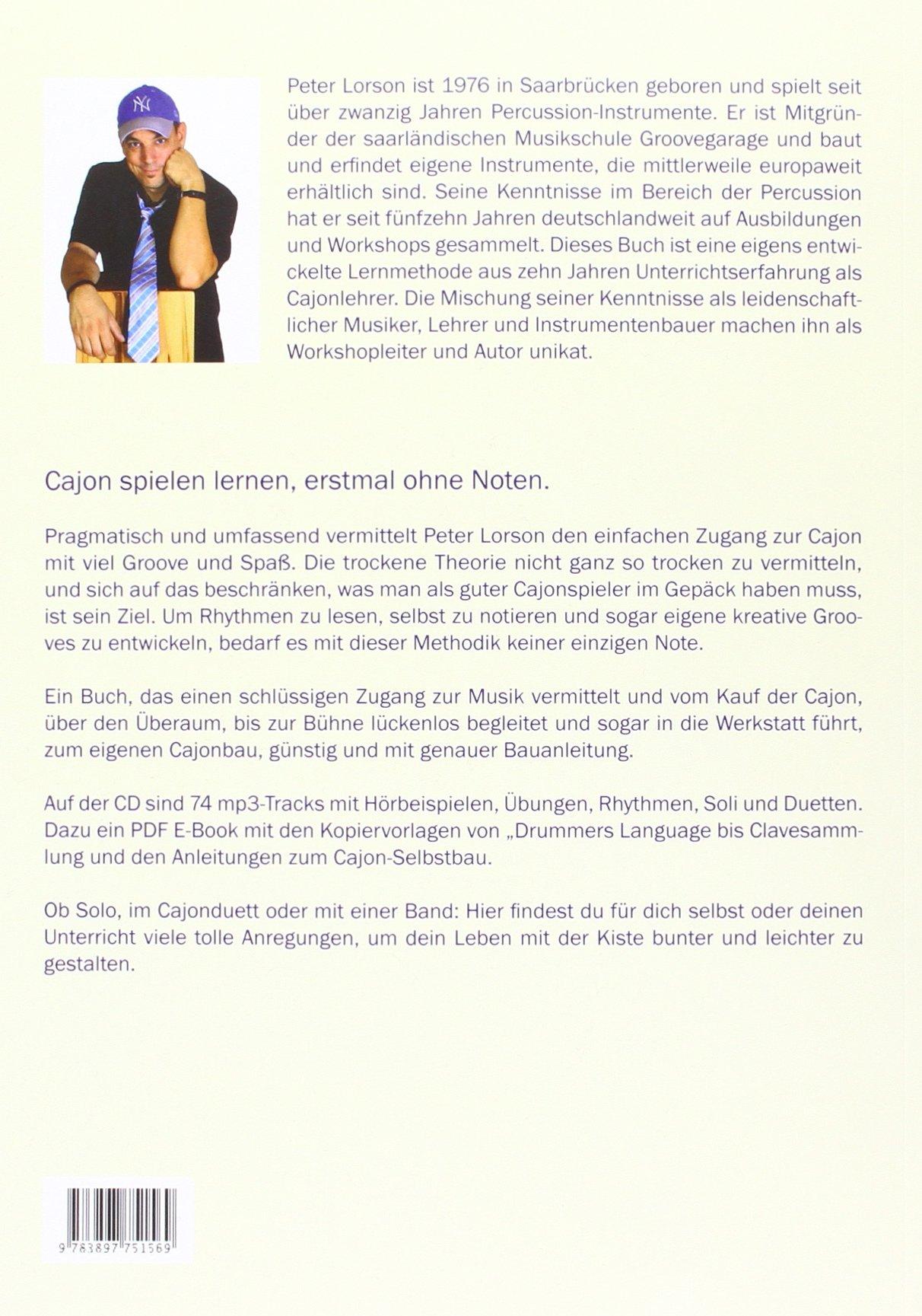 Cajon Rhythm Basics 9783897751569 Amazon Com Books