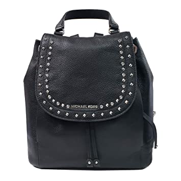 a715ca5c54c1 Amazon.com | Michael Kors Riley LG Backpack Leather Black (35F8GRLB7L) |  Casual Daypacks