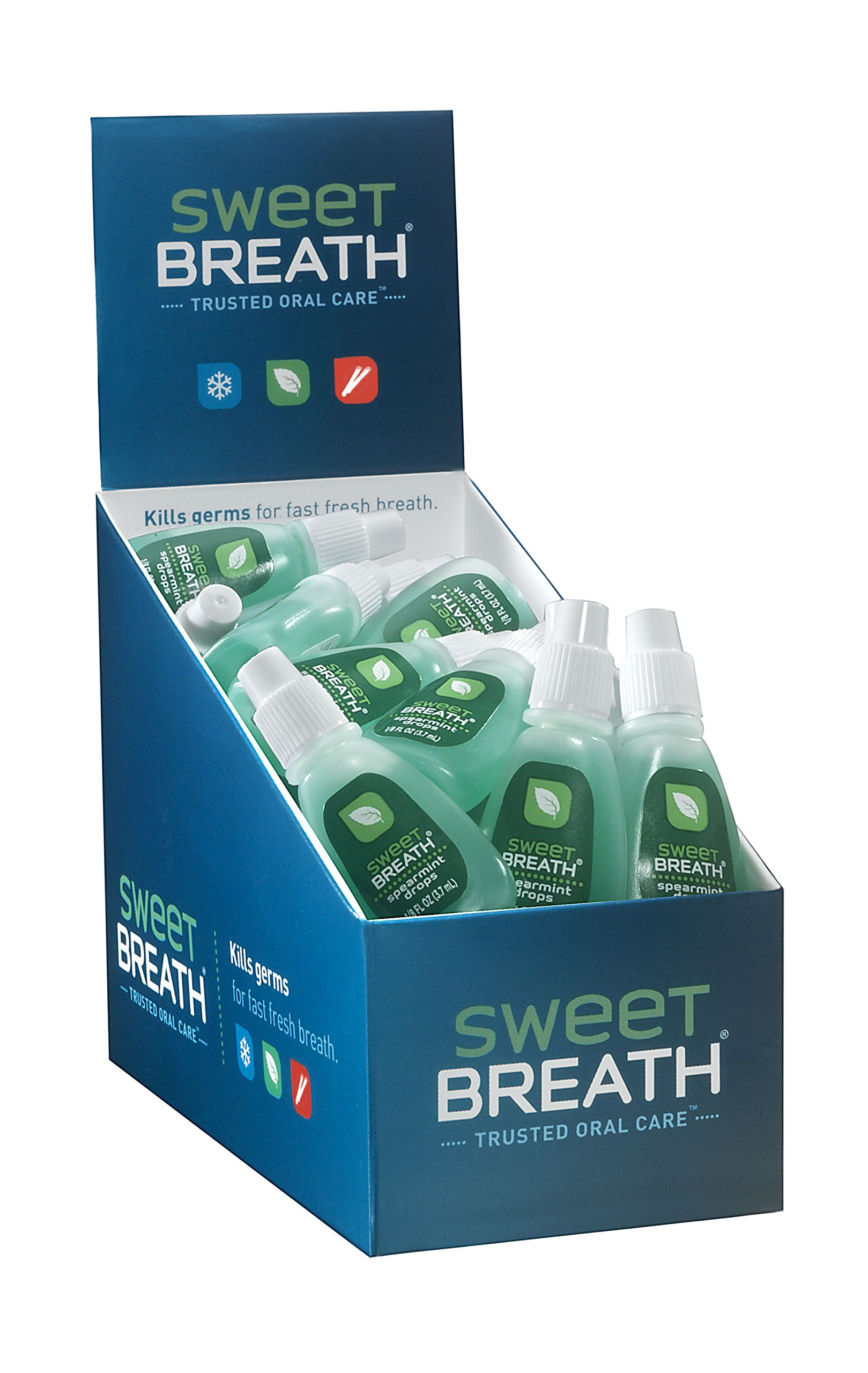 Sweet Breath Drops, Spearmint, 48 Count