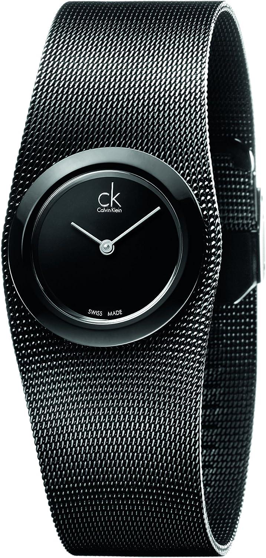 Calvin Klein Reloj analógico para Mujer de Cuarzo con Correa en Acero Inoxidable K3T23421