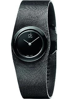 Calvin Klein Reloj analógico para Mujer de Cuarzo con Correa en Acero Inoxidable…