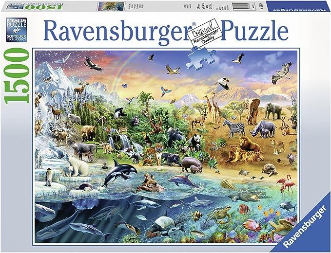 Ravensburger - Mundo salvaje (16364): Amazon.es: Juguetes y juegos