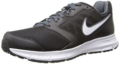 NIKE Men's Downshifter 6 Running Shoe, Black/Dk Magnet Grey/White