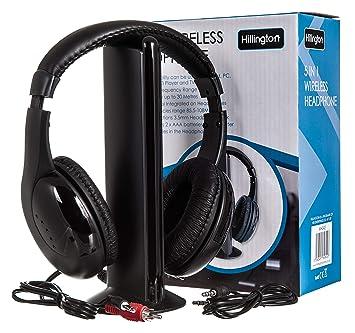 PMS DELUXE - Auriculares inalámbricos con radio en caja de impresión: Amazon.es: Electrónica