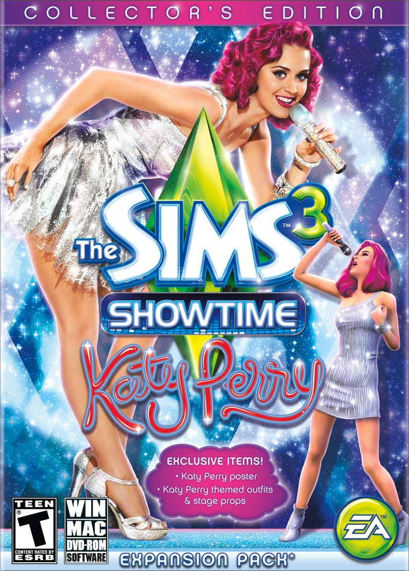 The Sims 3: Showtime - Katy Perry Collector's Expansion Pack Edition - PC by Electronic Arts (Image #1)