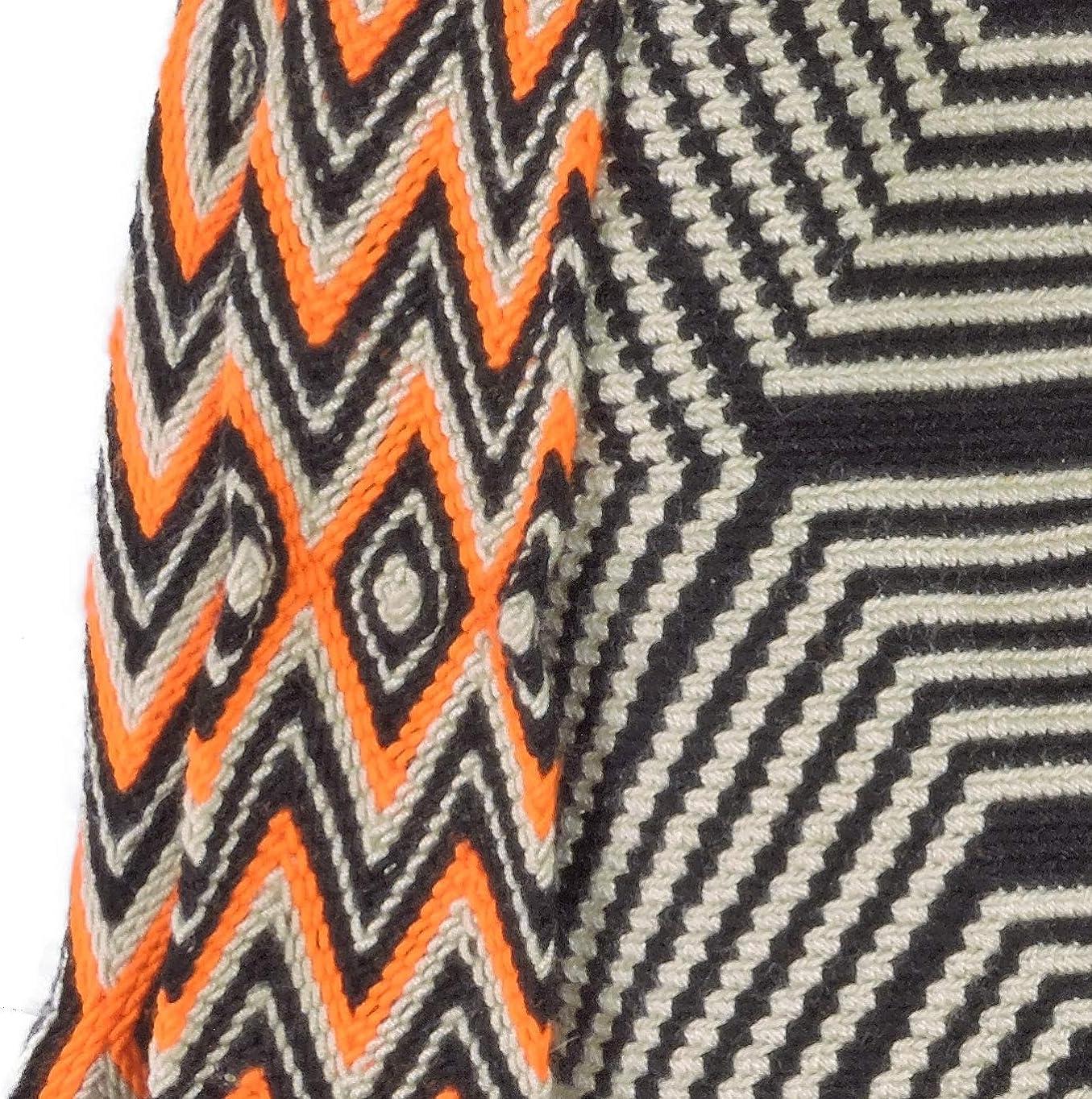 Amazon.com: Wayuu Mochila Bolsas de ganchillo tejidas a mano ...