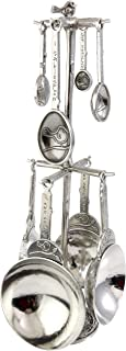 product image for Crosby & Taylor Bird Pewter Measuring Cups and Spoons Super Post Set