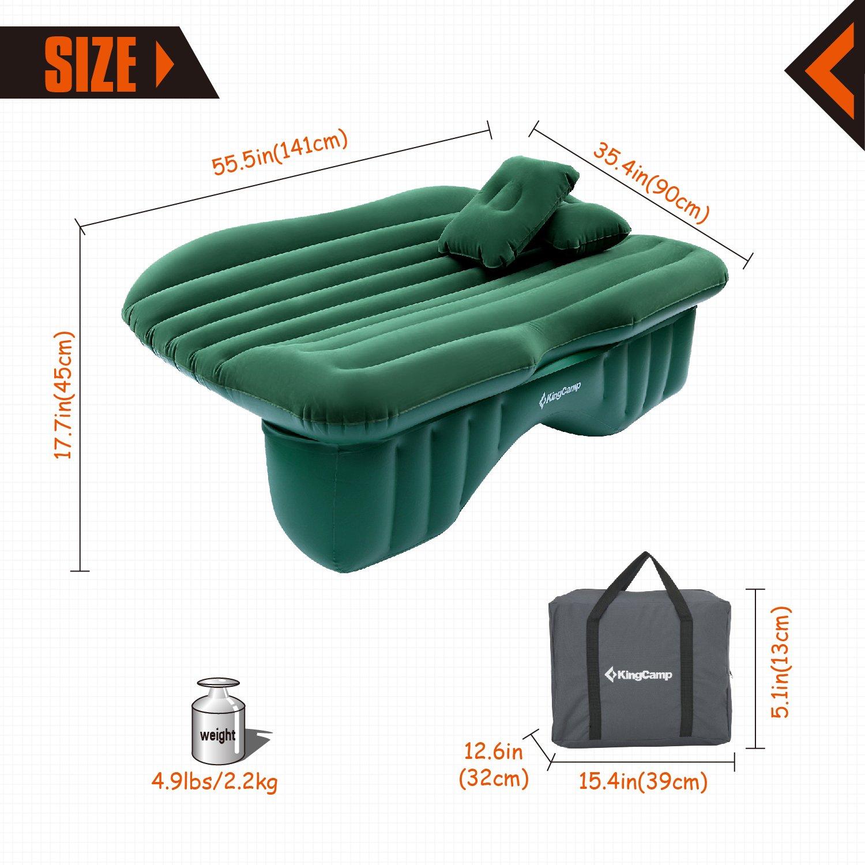 Amazon.com: KingCamp - Colchón hinchable para coche, cama de ...