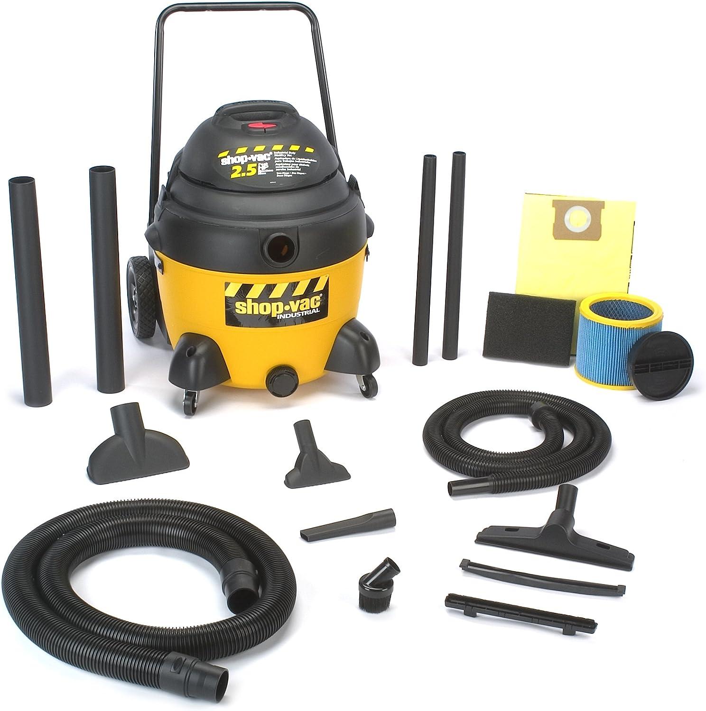 B00018ALFA Shop-Vac 9623910 2.5-Peak Horsepower Industrial Wet/Dry Vacuum, 16-Gallon 81w5TBUBdUL